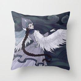 Tsarevna Lebed Throw Pillow