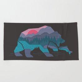 Bear Country Beach Towel