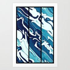 Earth's Oceans Art Print