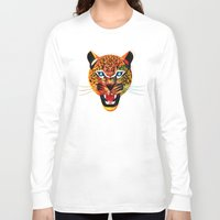 jaguar Long Sleeve T-shirts featuring jaguar by Alvaro Tapia Hidalgo