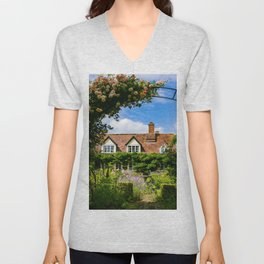 Cottage garden. v2 Unisex V-Neck