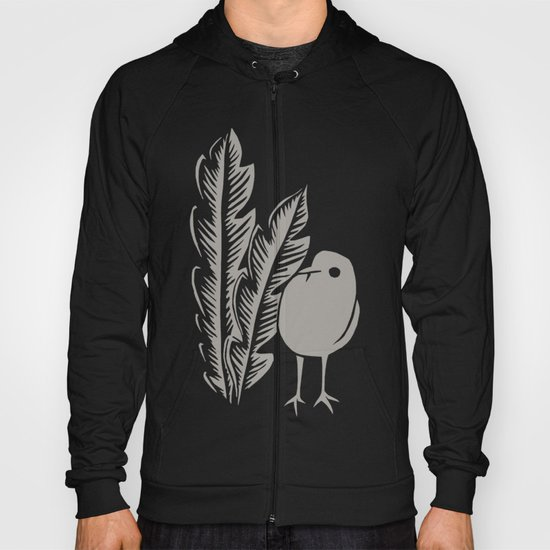 Graphic Bird Hoody