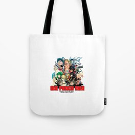 One Punch Man Heroes Tote Bag