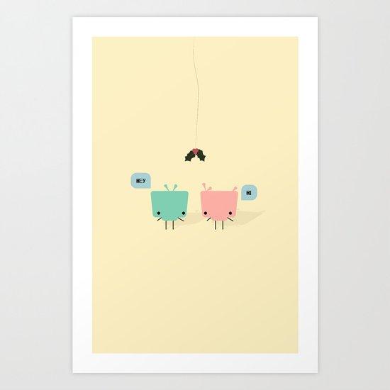 She & He Art Print