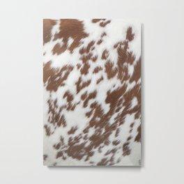 Сow skin Metal Print
