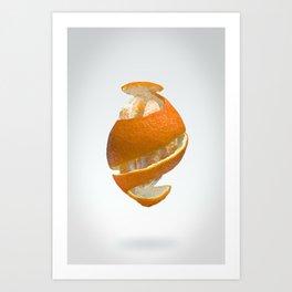 Flying Tangerine Art Print