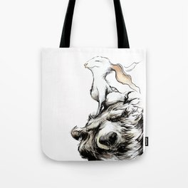 Feel the wind in your ears Tote Bag