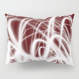 Red Flow2 Pillow Sham