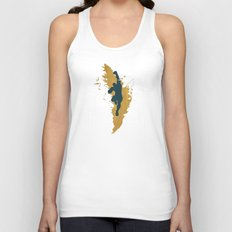 Feed The Tiger (Homage To Sagat) Unisex Tank Top
