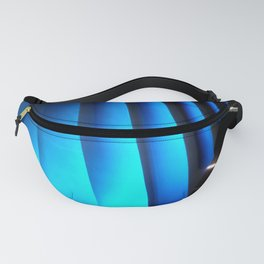 Exotic Blue Fanny Pack