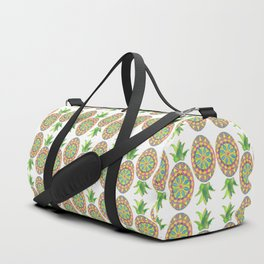 Pineapple Mandala Duffle Bag