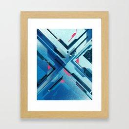 Geometric - Collage Love Framed Art Print