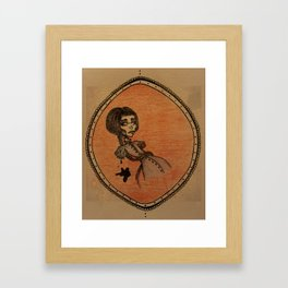 nos demons animes Framed Art Print