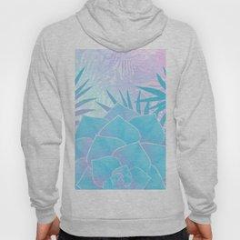 Pastel Rainbow Tropical Flower Paradise Design Hoody