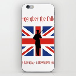 Remember the fallen iPhone Skin