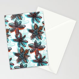 Tropica Floral Stationery Cards
