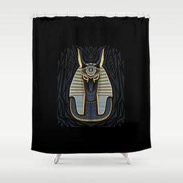 Egyptian pharaoh Shower Curtain