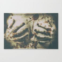 Blowtittis Canvas Print