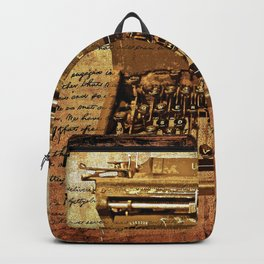 Abraham Lincoln You Did't Need to Type It Backpack