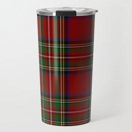 Royal Stewart Tartan Clan Travel Mug