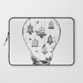 Aquarium Bulb Bird Houses Laptop Sleeve