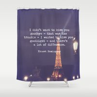 hemingway Shower Curtains featuring Hemingway by McQueen Photography