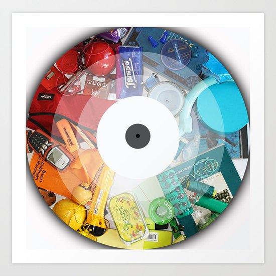 Color Circle Art Print