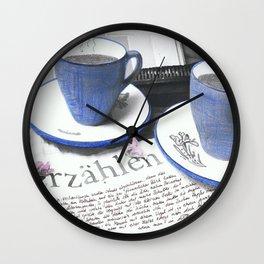 Tell a Story Wall Clock