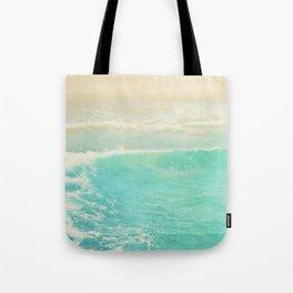 beach ocean wave. Surge. Hermosa Beach photograph Tote Bag