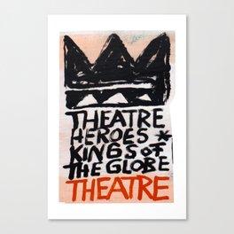 Theatre Heroes Canvas Print