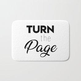 Turn the page Bath Mat