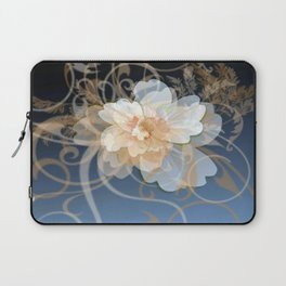 Beautiful Abstract Floral Laptop Sleeve