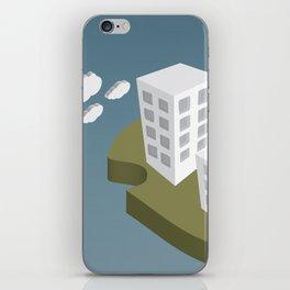 Adrift Alone iPhone Skin