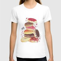 donuts T-shirts featuring DONUTS by TOO MANY GRAPHIX