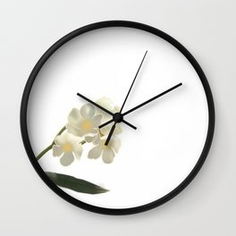 Flowers for Dad Wall Clock