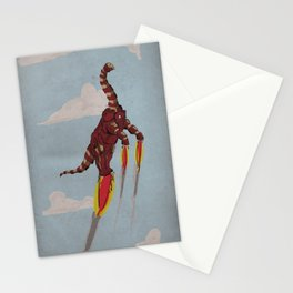 Iron Brontosaurus - Superhero Dinosaurs Series Stationery Cards