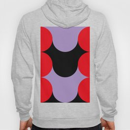 Red Purple Black. Hoody