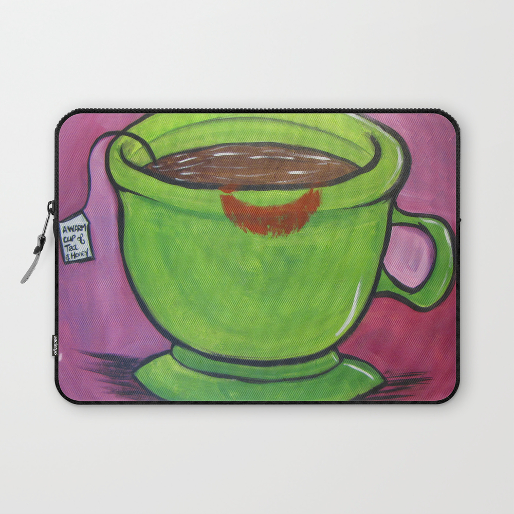 A Warm Cup Of Tea And Honey Laptop Sleeve LSV7960300