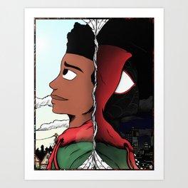 Miles Morales Art Print
