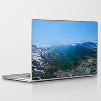 norway Laptop & iPad Skins featuring Geiranger Norway by Adrian Windle