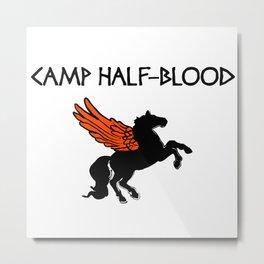 Camp Half-Blood Wings Metal Print