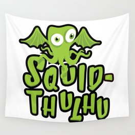 Squid-thulhu Wall Tapestry