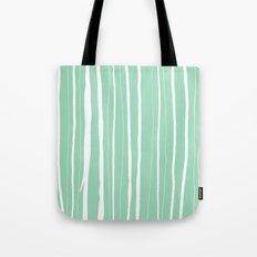 Vertical Living Mint Tote Bag