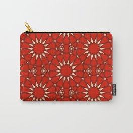 Mudejar in Red Carry-All Pouch