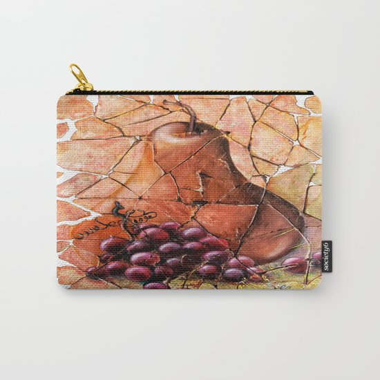 Pear & Grapes Fresco Carry-All Pouch