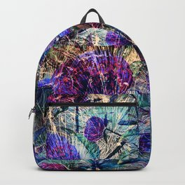Western Summer Grasses with Flowers Backpack