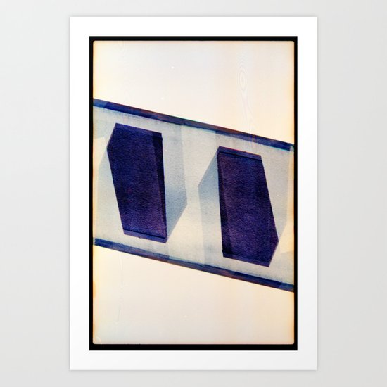 mII (35mm multi exposure) Art Print