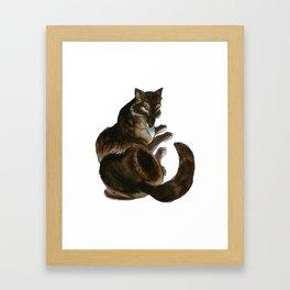 She-Wolf Framed Art Print
