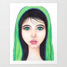 Fierceness Within by Tanya Cole Art Print