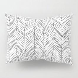 Wabi Sabi Herringbone Pattern Pillow Sham